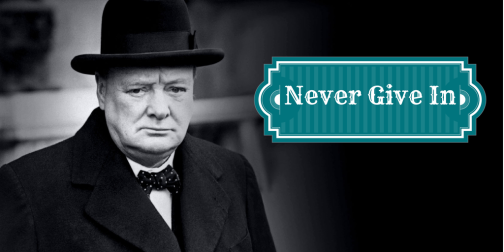 Never Give In, Never